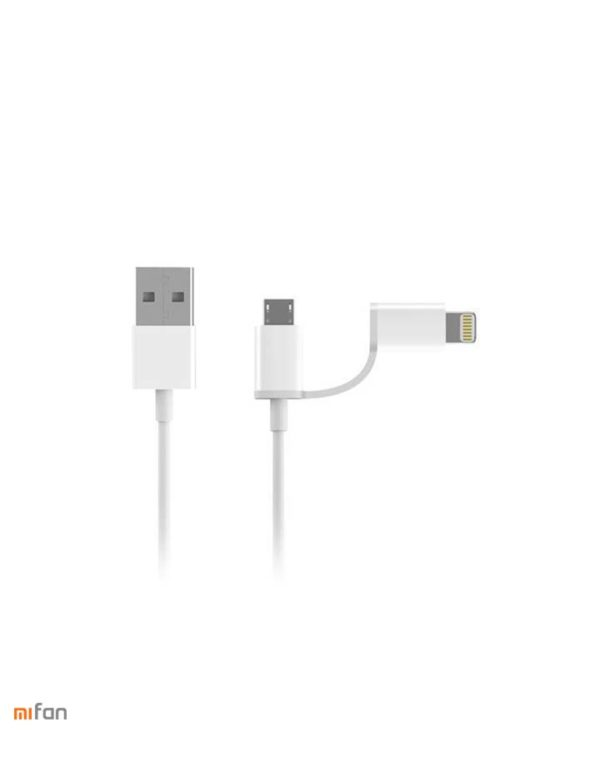 Usb - Кабель Xiaomi Mi Lighting/Micro Usb 2in1 30см