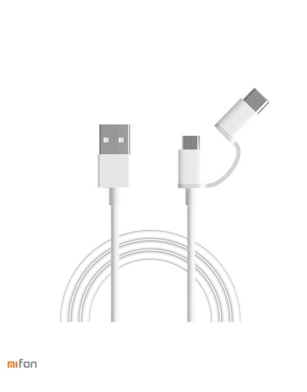 Usb - Кабель Xiaomi Mi Micro/Type-c Usb 2in1 100см