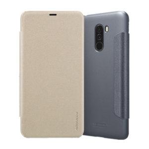 Чехол книжка NILLKIN Sparkle leather case Xiaomi Pocophone F1