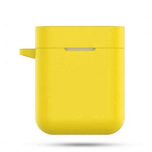Чехол силиконовый для Redmi AirDots Pro 2 желтый