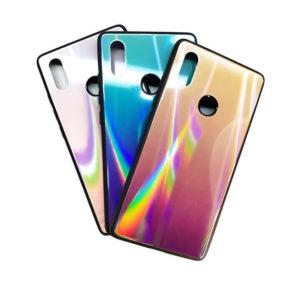 Чехол Xiaomi Mi 8 SE Glass Rainbow 3D