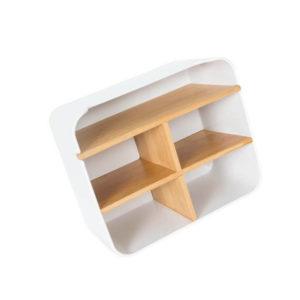 Настольный бамбуковый органайзер ZEN's Bamboo Multi-Function Storage Box