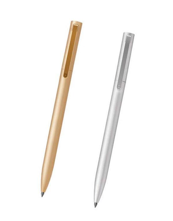 Ручка Xiaomi Mi Aluminum rollerball Pen (золотистый, серебристый)