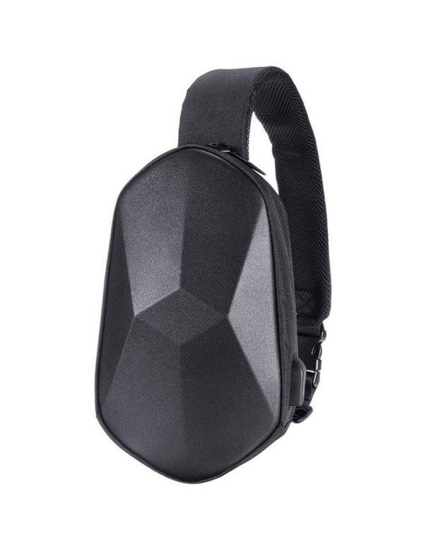 Рюкзак Xiaomi Detector BEABORN Polyhedron chest bag PU Черный