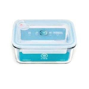 Стеклянный контейнер для еды Xiaomi Anti-Drop Glass Crisper 1100 мл