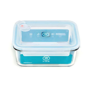 Стеклянный контейнер для еды Xiaomi Anti-Drop Glass Crisper 715 мл