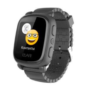 Умные часы Elari KidPhone 2 KP-2 Black