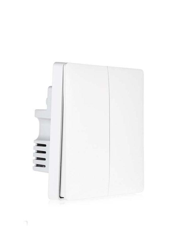 Умный выключатель Xiaomi Aqara Smart Wall Switch (QBKG03LM) две клавиши