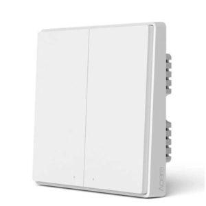 Умный выключатель Xiaomi Aqara Smart Wall Switch D1 (QBKG22LM) две клавиши