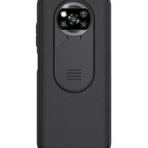 Чехол Nillkin Xiaomi Poco X3 Slide Cover Black