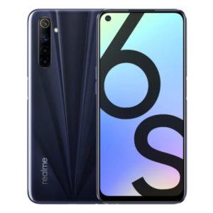 Смартфон Realme 6s 6/128GB Черное затмение