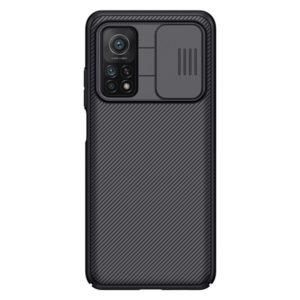 Чехол Nillkin Xiaomi Redmi Note 10 Pro Slide Cover Black