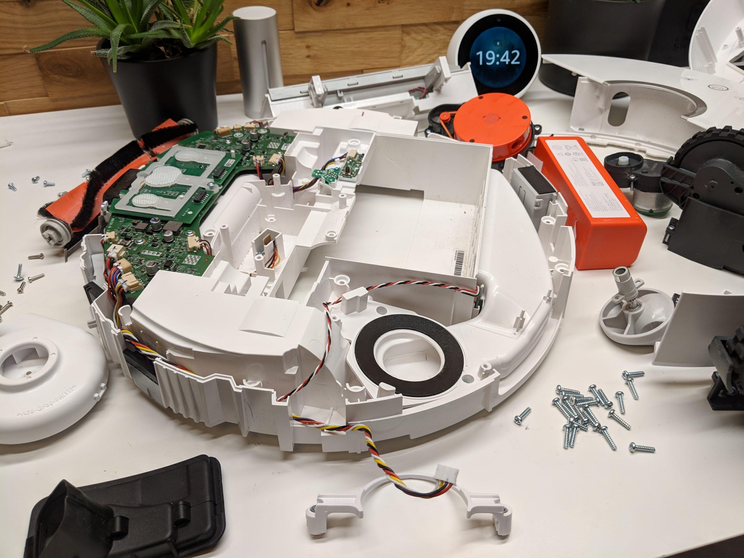 Запчасти на робот пылесос Xiaomi