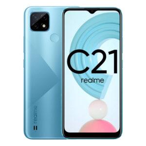Смартфон Realme C21 3/32GB Голубой