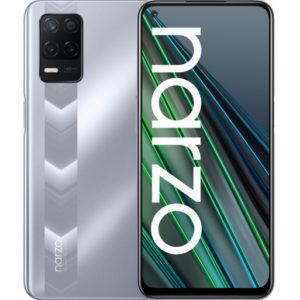 Смартфон Realme Narzo 30 5G 4/128GB Серебряный