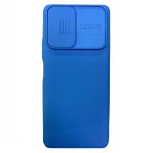 Чехол Nillkin Xiaomi Redmi Note 10 Pro Slide Cover Blue