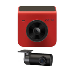 Видеорегистратор Xiaomi 70mai Dash Cam A400+Rear cam Red